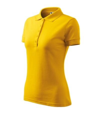Polokošile dámská Pique Polo 200 žlutá XXL