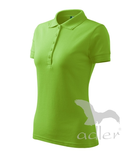 Polokošile dámská Pique Polo apple green 2XL
