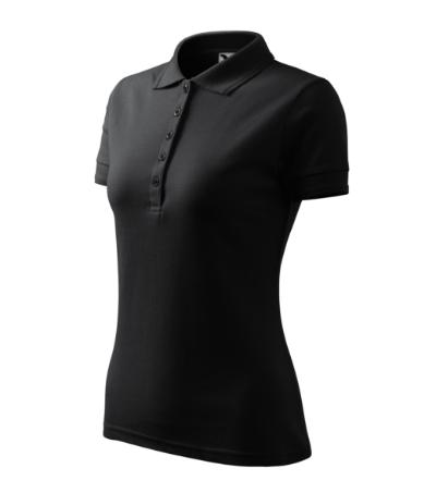 Polokošile dámská Pique Polo ebony gray XXL