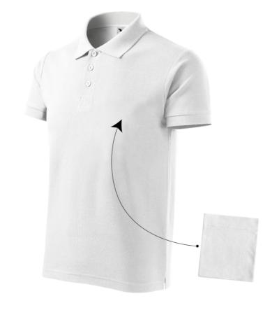 Cotton polokošile pánská bílá 3XL