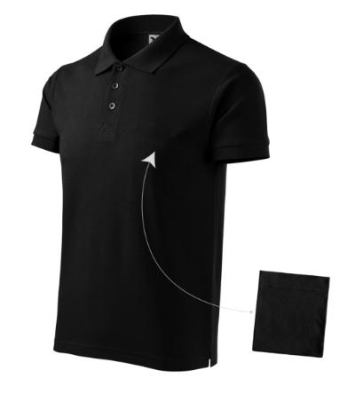 Cotton polokošile pánská černá 3XL