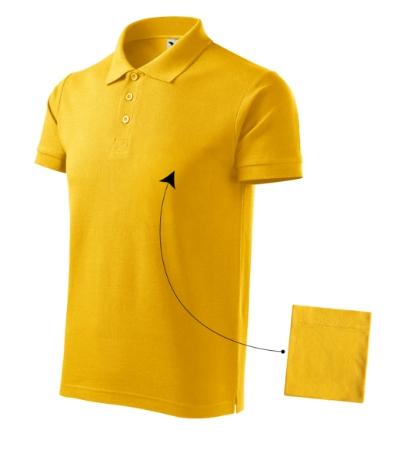 Cotton polokošile pánská žlutá 3XL