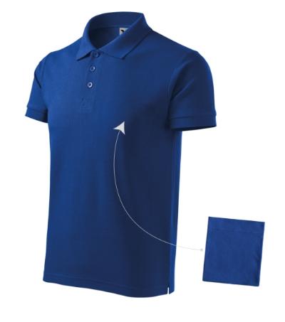 Cotton polokošile pánská královská modrá 3XL