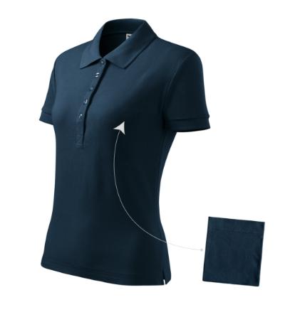 Polokošile dámská Cotton námořní modrá XXL