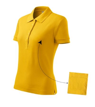 Cotton polokošile dámská žlutá 2XL