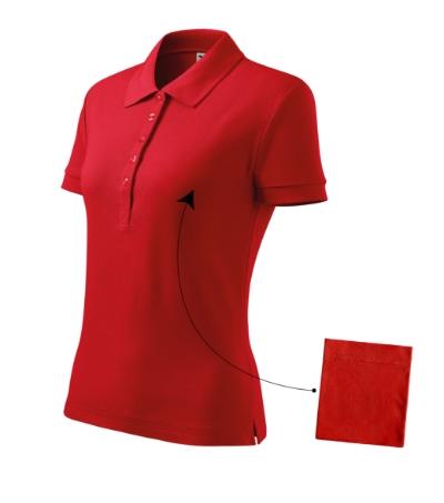 Polokošile dámská Cotton červená XXL