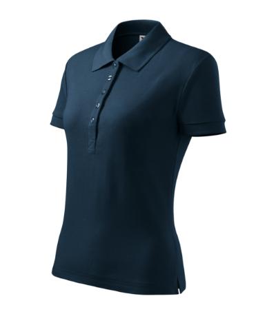 Polokošile dámská Cotton Heavy námořní modrá XXL 00487ce453