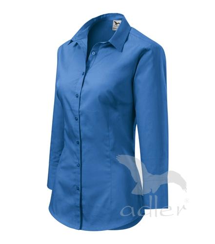 Halenka dámská Style azurově modrá XXL