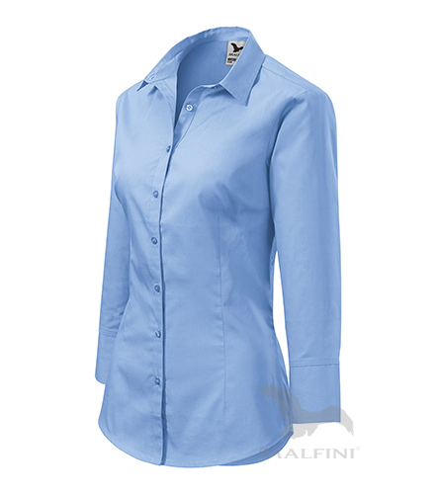 Style košile dámská nebesky modrá 2XL