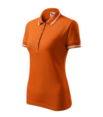 Urban polokošile dámská oranžová 2XL