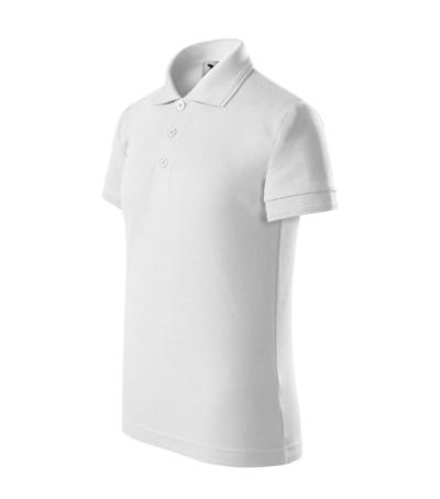 Pique Polo polokošile dětská bílá 146 cm/10 let