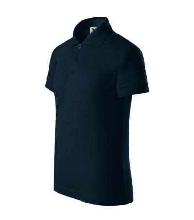 Pique Polo polokošile dětská námořní modrá 146 cm/