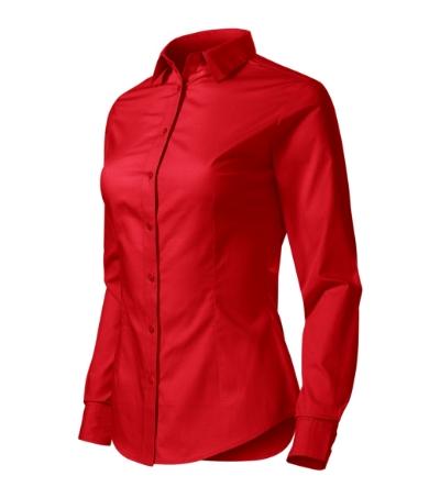 Style LS košile dámská červená 2XL