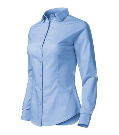 Style LS košile dámská nebesky modrá 2XL