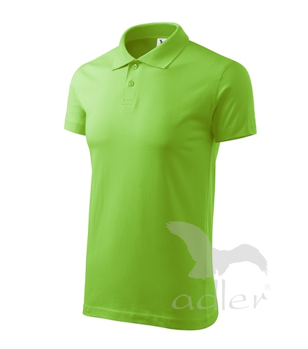 Polokošile Single J. apple green 2XL