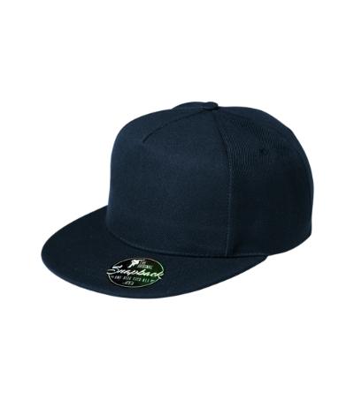 Rap 5P čepice unisex námořní modrá nastavitelná