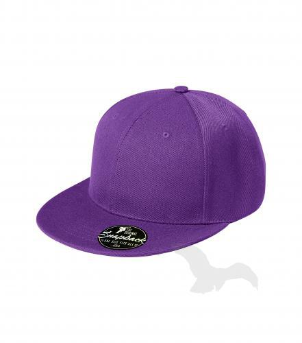 Rap 6P čepice unisex fialová nastavitelná