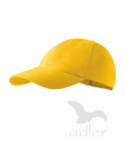 Čepice dětská 6P žlutá