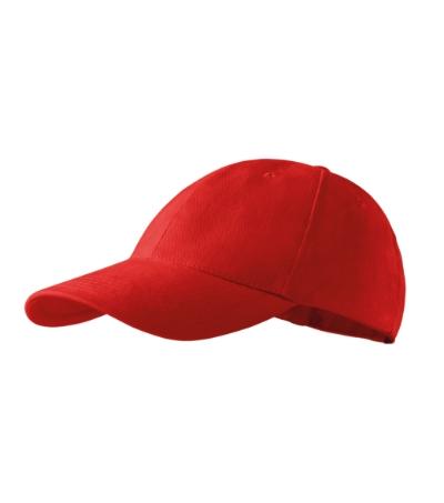 Čepice 6P červená