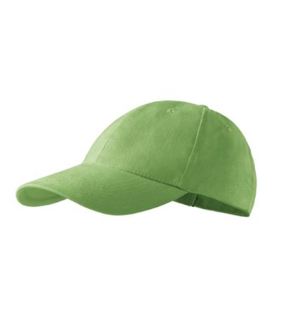 Čepice 6P trávově zelená