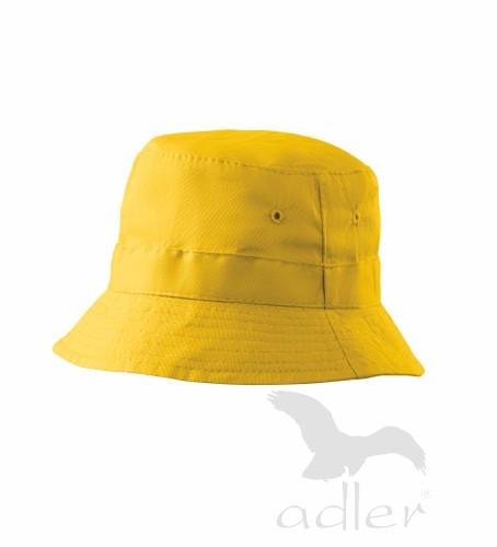 Klobouček Child žlutý
