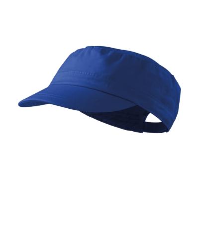 Čepice Latino královská modrá nastavitelná