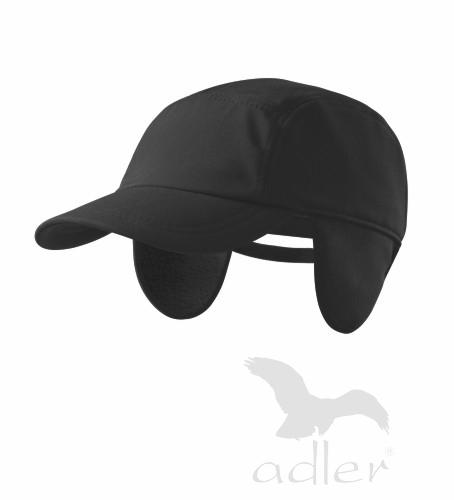 Softshellová čepice černá