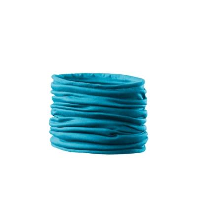 Šátek Twister tyrkysová