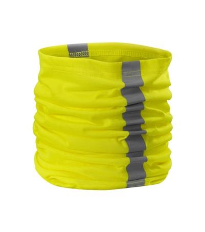 HV šátek Twister reflexní žlutá
