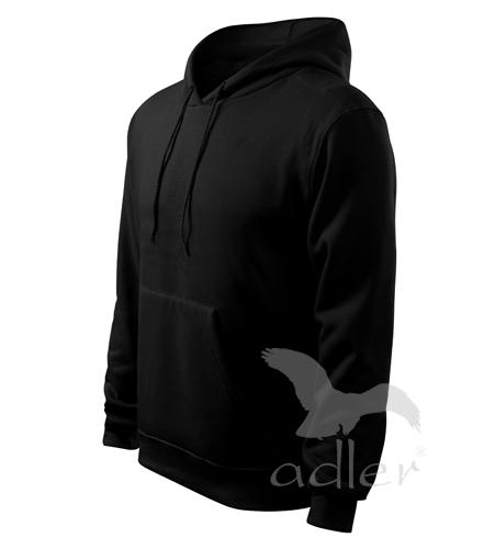 Mikina pánská Hooded sweater 320 černá L