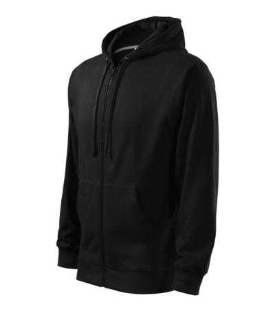 Trendy Zipper mikina pánská černá 3XL