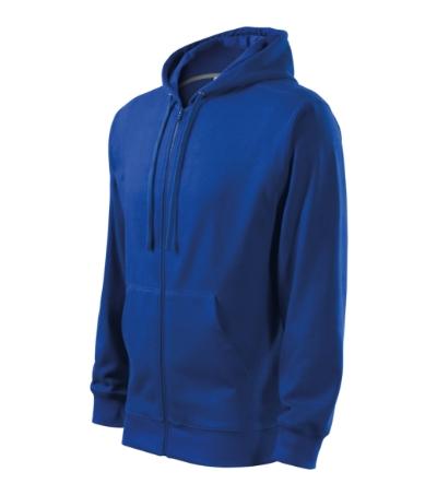 Trendy Zipper mikina pánská královská modrá 3XL