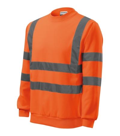 HV Mikina Essential reflexní oranžová XXXL