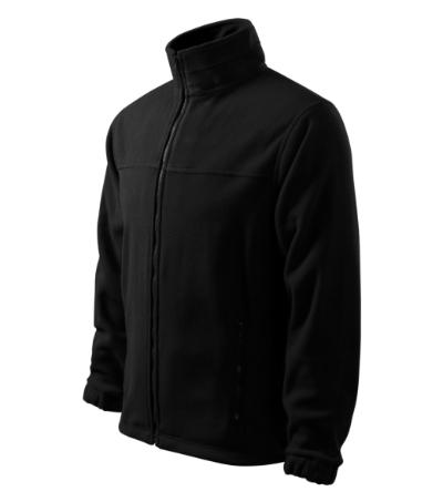 Fleece Pánský Fleece Jacket černá XXXXL