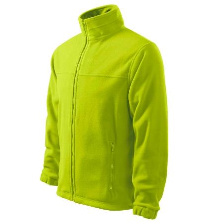 Pánský Fleece Jacket limetková 3XL