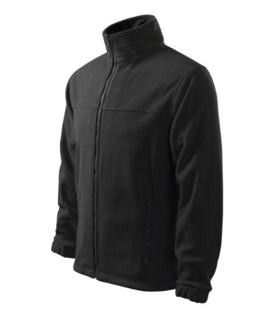 Pánský Fleece Jacket ebony gray XXXXL