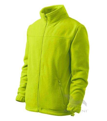 Dětský Fleece Jacket limetková 146 cm/10 let