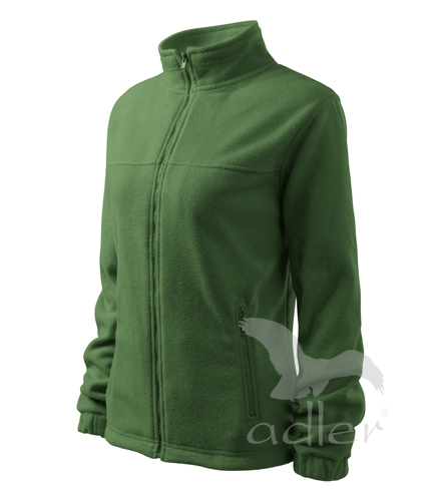 Dámský Fleece Jacket lahvově zelená 2XL