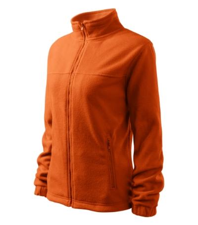 Dámský Fleece Jacket oranžová 2XL