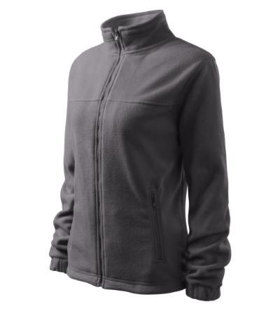 Dámský Fleece Jacket ocelově šedá 2XL