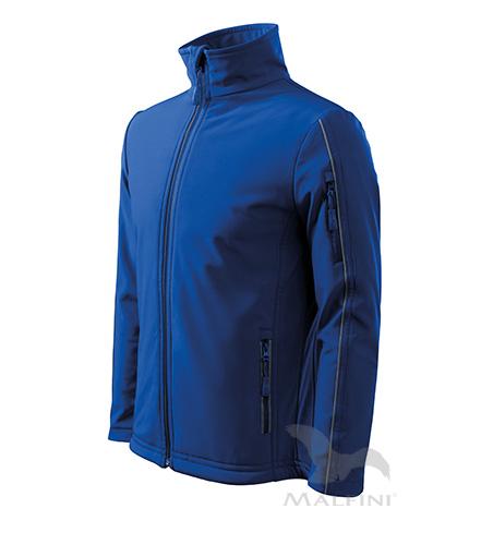 Bunda pánská Softshell Jacket královská modrá XXXL