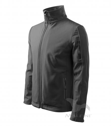 Softshell Jacket bunda pánská ocelově šedá 3XL