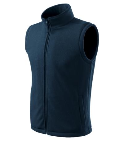 Unisex Fleece Vesta Next námořní modrá 3XL