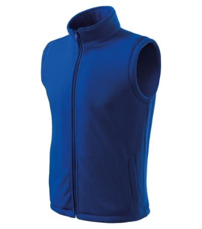 Unisex Fleece Vesta Next královská modrá 3XL