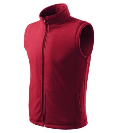 Unisex Fleece Vesta Next marlboro červená 3XL
