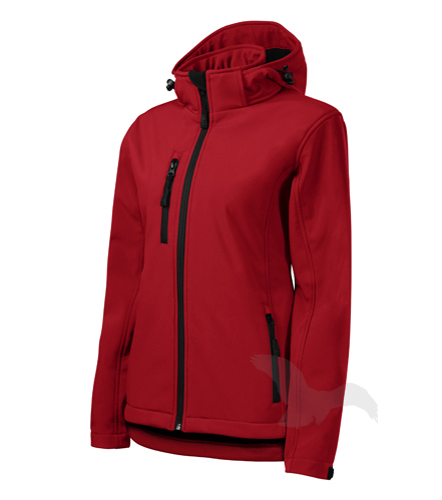 Softshellová bunda dámská Performance červená XXL