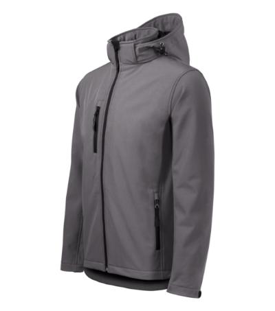 Softshellová bunda pánská Performance ocelově šedá