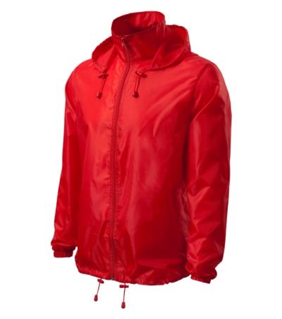 Unisex Větrovka Windy červená XXXL