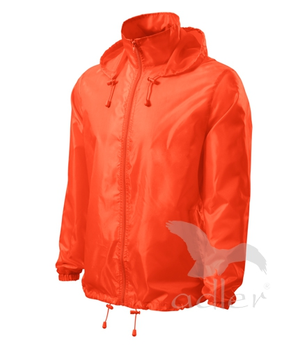 Unisex Větrovka Windy neon orange XXXL