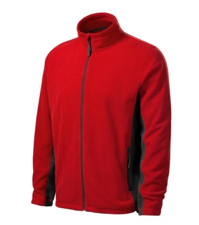 Frosty fleece pánský červená 4XL